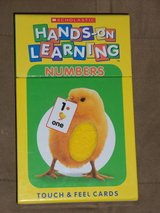 Scholastic Hands-On Learning Touch & Feel Cards (Updated 7/6/2016) in Joliet, Illinois