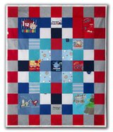 Custom Lap Size Keepsake Clothes Quilt in Fort Campbell, Kentucky