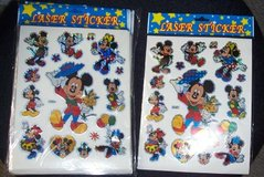 Mickey Mouse Laser Stickers 30 new sheets Reg $30 in Westmont, Illinois