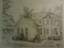 Pencil Drawings in Fort Knox, Kentucky