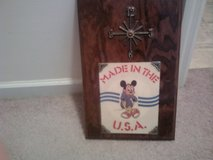 Homemade Mickey Mouse Clock in Camp Lejeune, North Carolina
