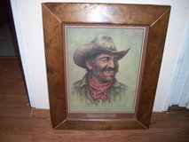 BILL HAMPTON COWBOY PRINT, SIGNED in Alamogordo, New Mexico